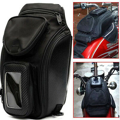 Universal Magnetic Motorcycle Oil Tank Bag Shoulder Bag Waterproof Easy Clean