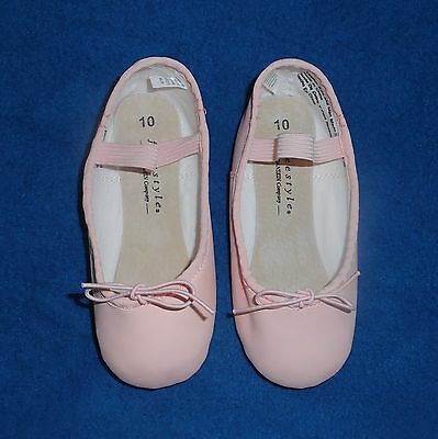 New W/O Tags Toddler Girl's Danskin FreeStyle Pink Ballet Slippers Flats Size 10
