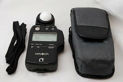 """Excellent+++"" Minolta Auto Meter IVF Light Meter From Japan"