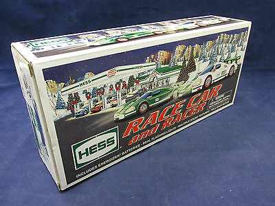 2009 Hess Gasoline Toy Race Car & Racer w/ Lights + Sounds
