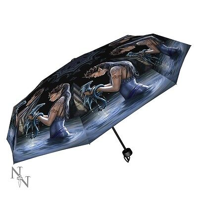 Water Dragon Umbrella by Anne Stokes