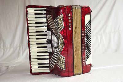 Piano accordion akkordeon HOHNER VERDI II  96 bass