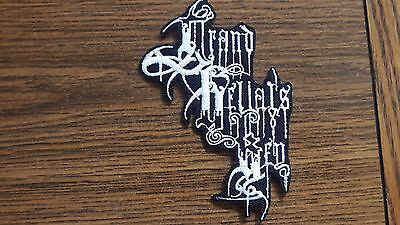 Grand Belial's Key,iron On White Embroidered Patch