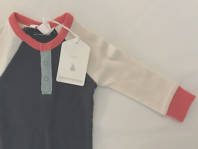 COUNTRY ROAD baby BOY jumpsuit, BNWT, Size: 000 / 0-3mths, RRP $44.95
