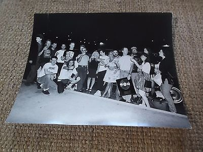 "RARE 8"" x 10"" PHOTO FAITH NO MORE W/GOLD RECORD Warner Bros team band photo"