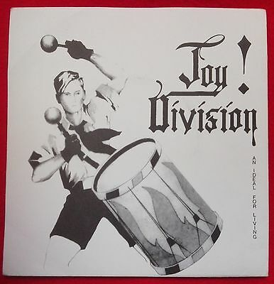 Joy Division - An Ideal For Living Ep 1982 Top Rare Fan Club ***replica***