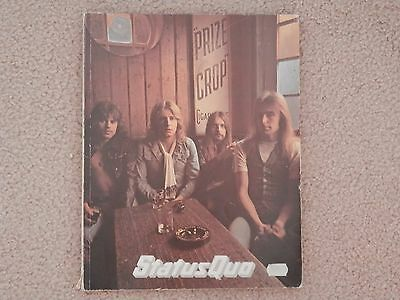 Status Quo guitar tabs by Valley Music/Shawbury Music 1970's