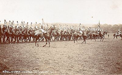 The Royal Horse Guards Windsor Unposted Real Photo