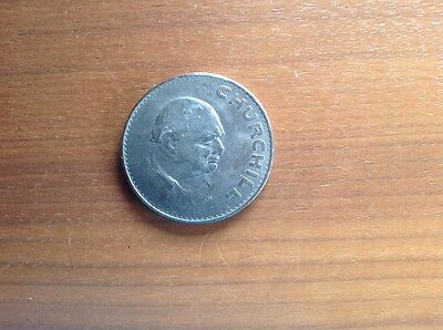 1965 Winston Churchill Commemorative Coin