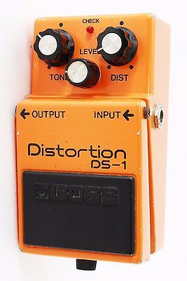 Boss DS-1 DS1 Distortion Guitar Effect Pedal [Exc+] from Japan Made In JAPAN