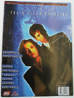 Collectable X Files Official Collectors Magazine Edition 1 Autumn 1996
