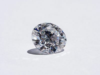 Round H&A cut 5.0 mm- 0.50 ctw color E,clarity IF Moissanite loose gem stones