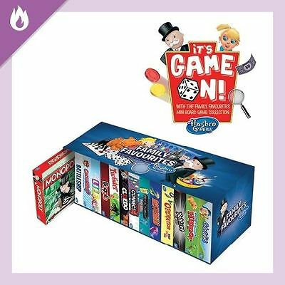 Hasbro 13 Mini Board Game Collection Set ( Monopoly not include)