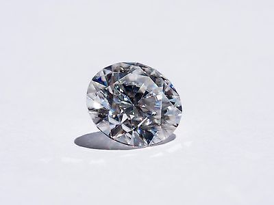 Round H&A cut 9.5mm - 3,50 ctw color DEF,clarity IF Moissanite loose gem stones