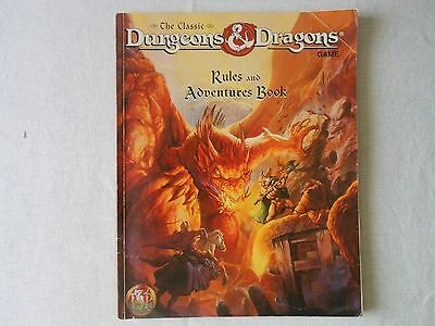 The classic Dungeons & Dragons Rules and Adventure book