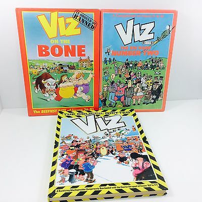 Viz Comic Annual Bundle Three Annuals Covering Issues 13-18  76-81 & 162-171