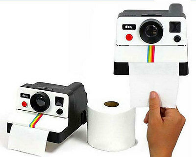 Home Decor Retro Camera Shaped Toilet Paper Tissue Roll Holder Box Covers 308HC