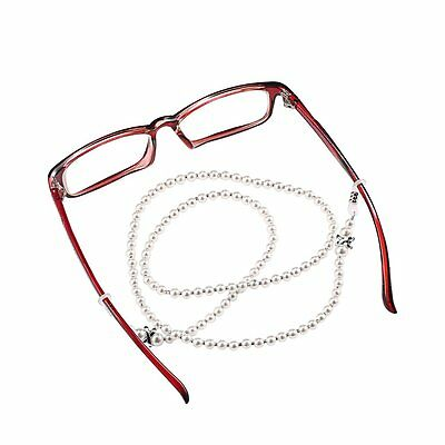 Women Handmade Beaded Eyeglass Strap Rope Reading Glasses Chain Cord Holder DP