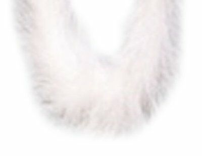 KnorrPrandell 2543799 Feather Boa,  1 Meter Long, White