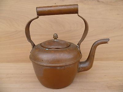 Antique Old Small Size Copper Kettle, Kitchen Kettle (E613)