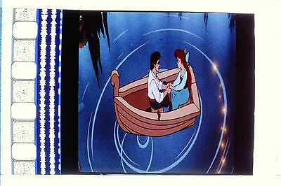LITTLE MERMAID 100 Set Slide Mounted Movie Film Cells Complements dvd poster