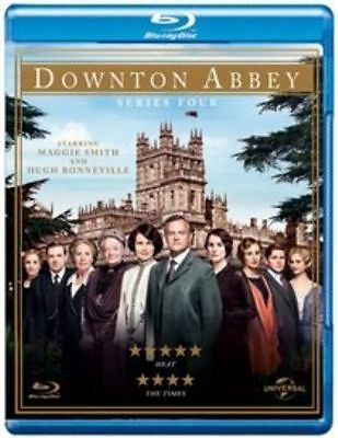 Downton Abbey - Series 4 - Complete (Blu-ray, 2013, 3-Disc Set)