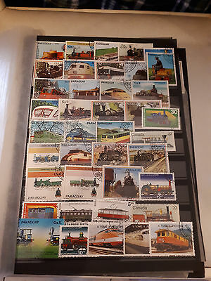 40 timbres Trains (lot 2)