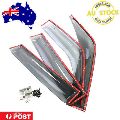 Toyota Prado 90 95 Weathershields Window Visors Prado 90 95 Series Wind Guards