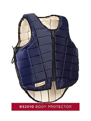 Racesafe RS2010 Body Protector, Child, Black, Dark Blue