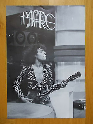MARC BOLAN * T REX * 1970s WALL POSTER IN TOP CONDITION!!