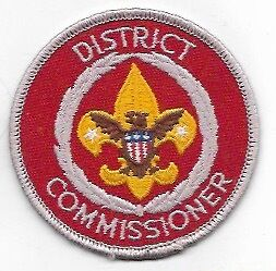 Scouts: District Commissioner patch