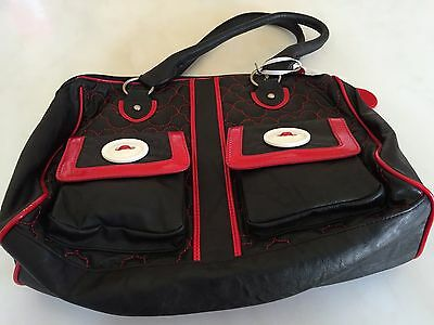 Mickey Mouse Disney Bag Red And Black * New With Tags * Minnie Mouse Donald Duck