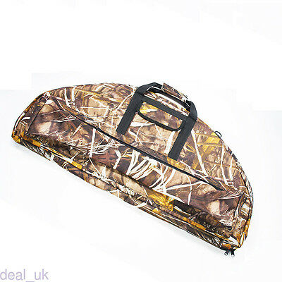 Outdoor Hunting Compound Bow Bag Archery Arrow Carry Case Holder Practical