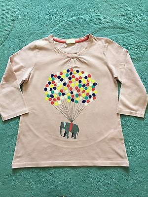 Girls 3/4 Sleeve Top, Mini Boden, Age 9-10 Years