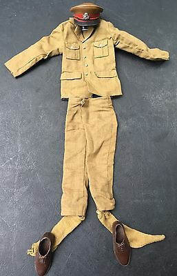 Vintage Action Man Palitoy Near Complete Brown British Officer Accessories
