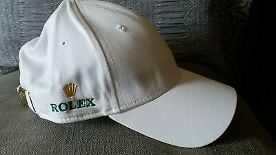 New Rolex Cap White