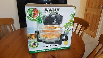 Salter EK1950 Low Fat deep fryer Triple Power Halogen Cooker