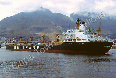 Original Colour Slide Of The Cargo Ship  Dumont Durbville