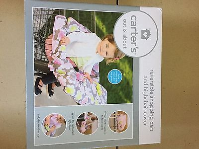 Carter's Out And About 2 In 1 Shopping Cart/High Chair Cover