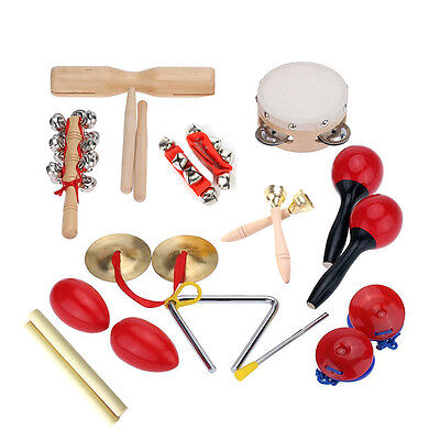 Kilofly Kids Mini Band Musical Instruments Rhythm Toys Value Pack Set Of 12 New