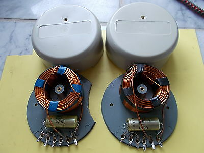 pair 2way crossover network, german vintage with ROEDERSTEIN, see text, tested