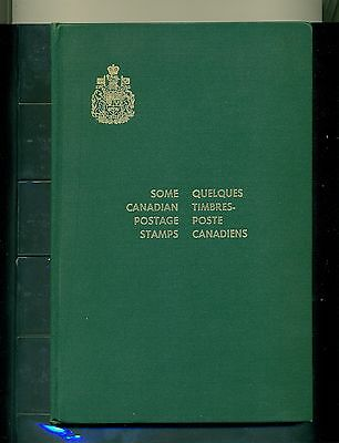 "Canada 1965 Presentation Book ""Some Canadian Stamps"" with 22 blocks of four"