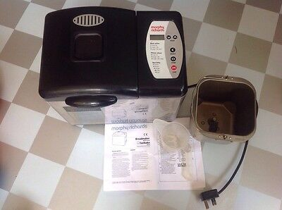 morphy richards Automatic bread maker Breadmaker 48221