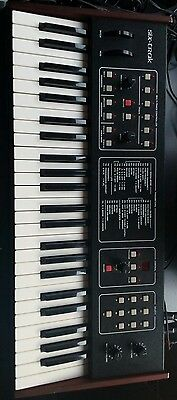Sequential circuits Six Trak 9/10 zustand Dave Smith analog synthesizer 1984