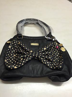 Minnie Mouse Black And Gold Bow  Bag * New With Tags * Mickey Mouse Disney