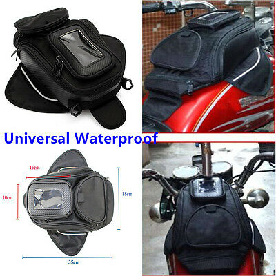 1Pc Universal Magnetic Motorcycle Motorbike Oil Fuel Tank Bag Luggage Waterproof