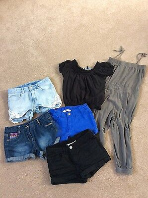 Girls H&M shorts and jumpsuit Bundles age 9-11 years
