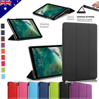 Apple iPad 5 6 Pro Air 2 3 10.5 2019 Case Leather Folding Magnetic Smart Cover