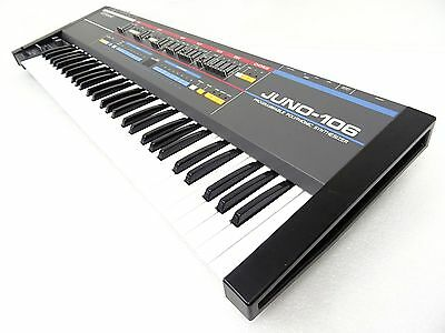 Roland JUNO-106 Vintage Analog Synthesizer CLASSIC needs service JU-106 60 as is