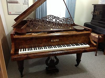 Ernst kaps Grand Piano built 1888 Excellent Original Con. $ 35,500 Reservoir